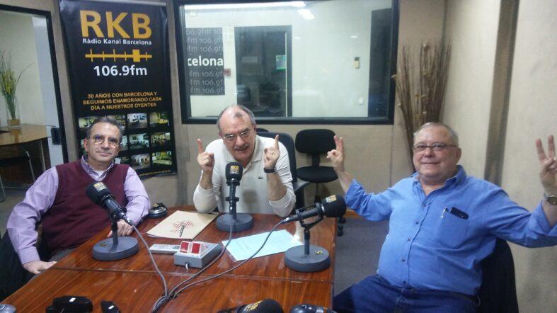"""PROGRAMA Nº57 DEL """"8×8"""" DE RÀDIO KANAL BARCELONA 106.9 FM (26.11.19)"""