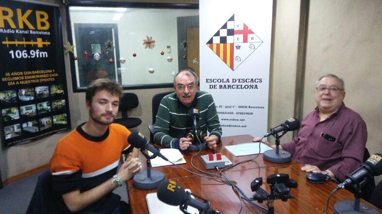 """PROGRAMA Nº59 DEL """"8×8"""" de RÀDIO KANAL BARCELONA 106.9 FM. (10.12.19)"""