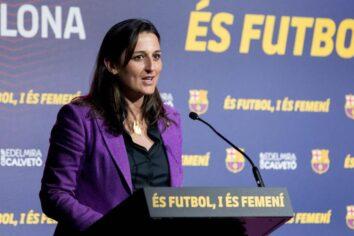 Proper 8×8 Ràdio – Entrevista a Maria Teixidor, Secretària de la junta directiva del F.C. Barcelolna