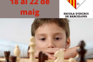 Setmana del 18 al 22 de maig – Continúen els Escacs ONLINE
