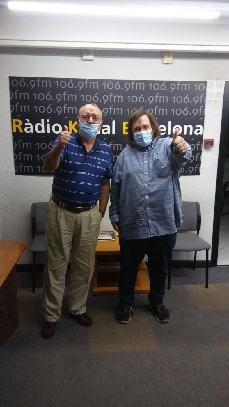 """PROGRAMA Nº94 DEL """"8×8"""" DE RÀDIO KANAL BARCELONA 106.9 FM (08.09.20)"""