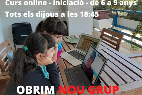 Obrim nou grup online per nivell iniciació de 6 a 9 anys